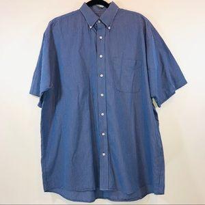 Jos. A. Bank Shirt Sleeve Button Down - M007